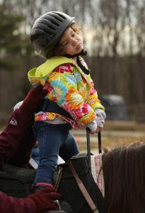 For these students, horseback riding brings special benefits