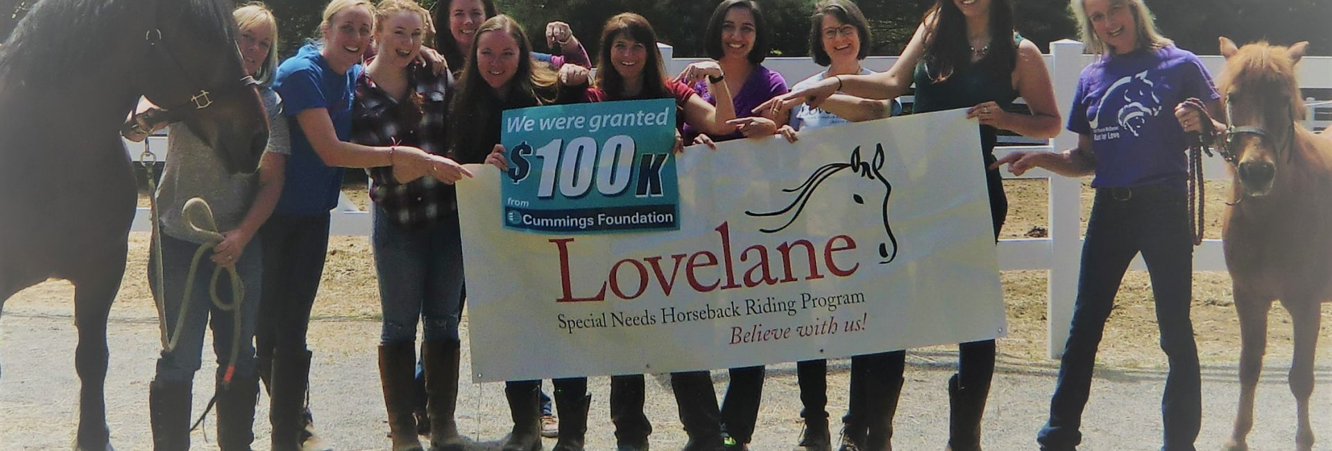 Thank you to Cummings Foundation $100K for 100!